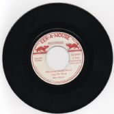 Barry Brown - Blackman Should Never Turn His Back / version (Eek-A-Mouse Records) UK 7""